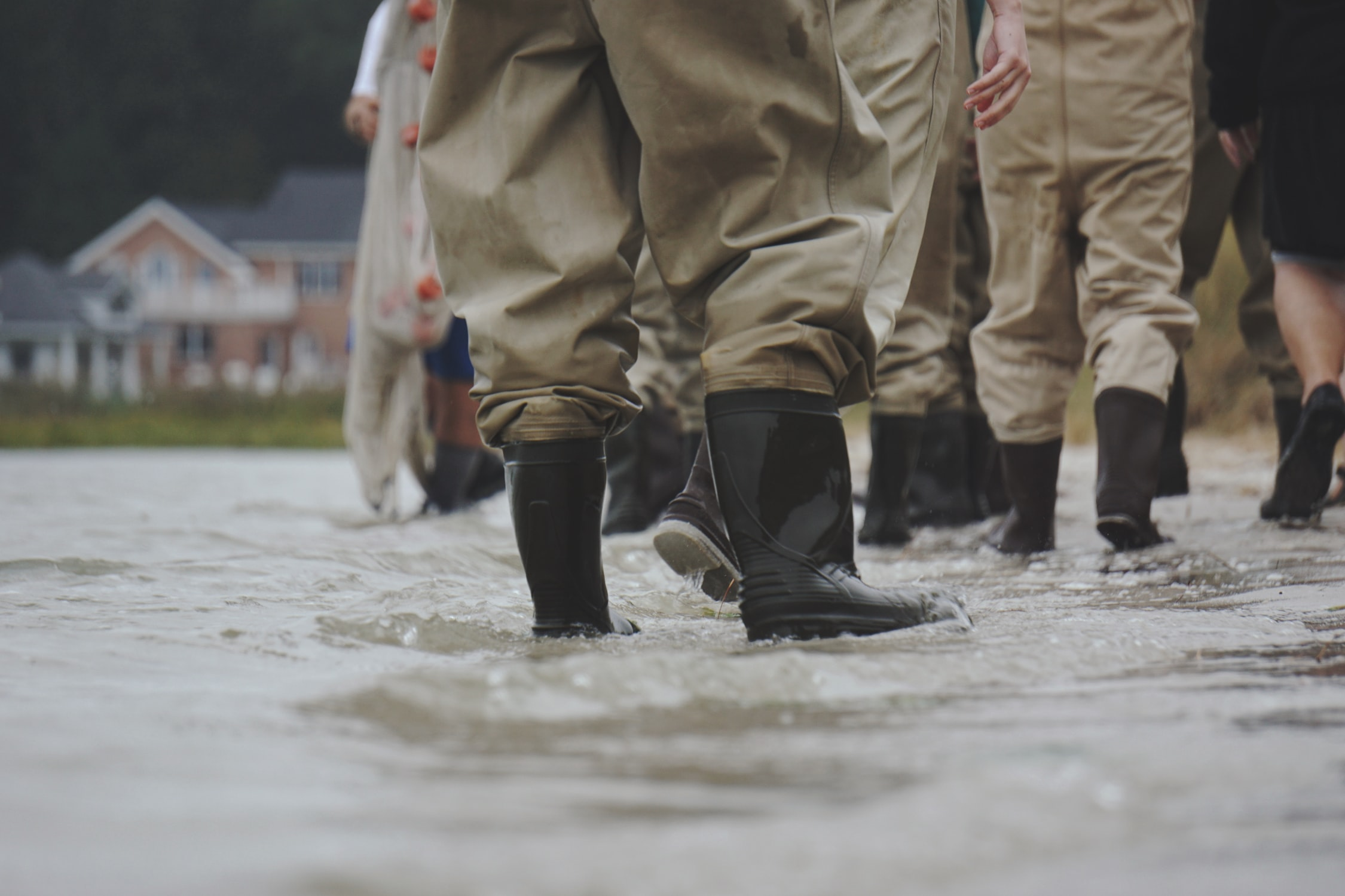 heavy duty waders